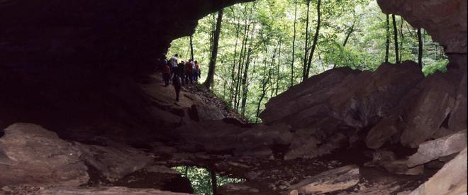 Cordell Hull Birthplace Cave
